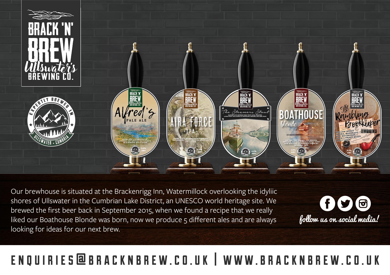 Brack 'n' Brew Range of Ales