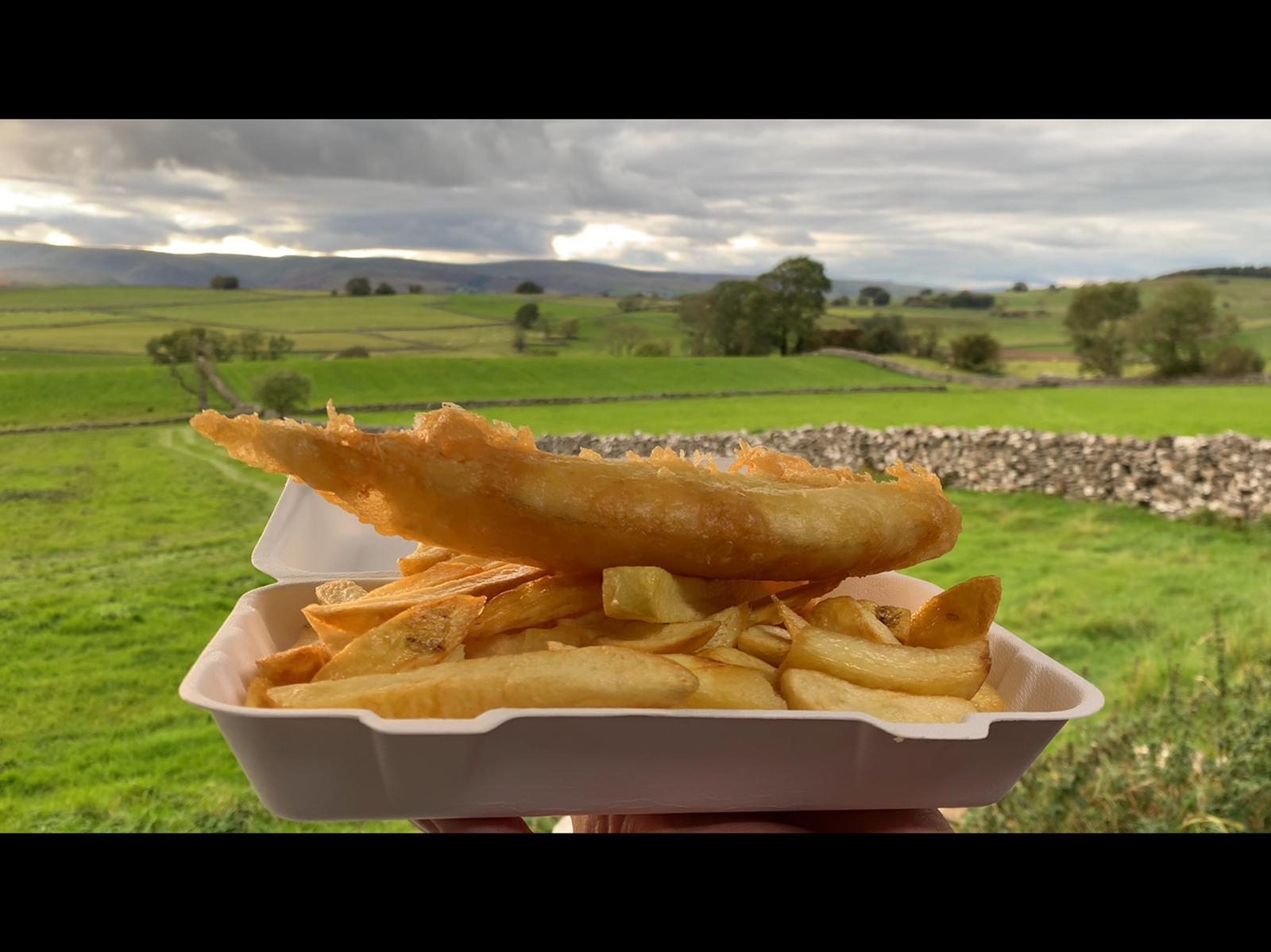 Fish and Chips from the Shap Chippy